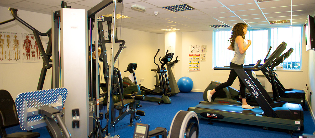Image of the In-House Gym