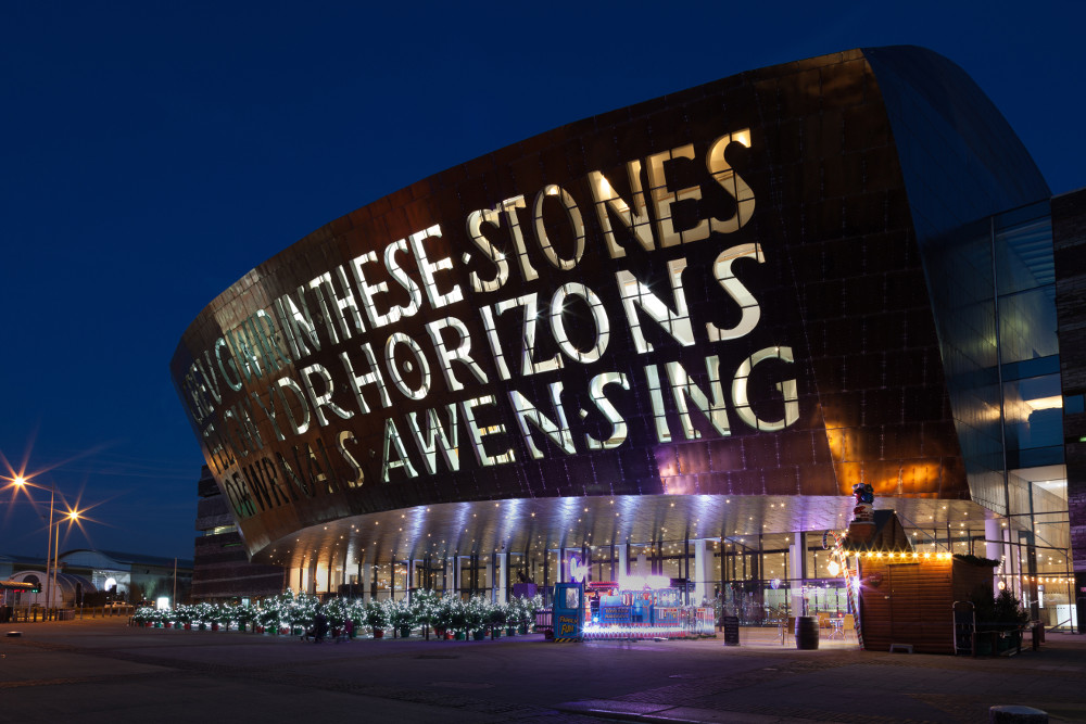 Wales Millennium Centre (locally known as The Armadillo) is a centre for the performing arts, located in the Cardiff Bay area of Cardiff.