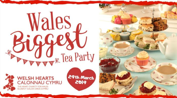 Selection of cakes for Welsh Hearts' Wales' Biggest Tea Party Event