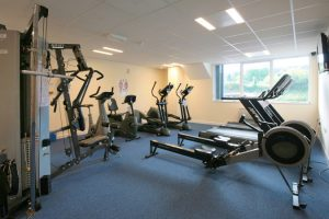 office with gym facilities